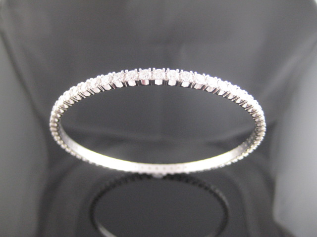 diamond bracelet unique bangles eternity set bangle pavorsky product ll invisible
